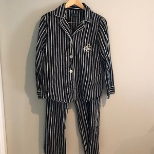 {Ralph Lauren} Striped PJ Set
